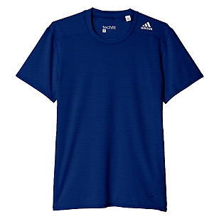 Polera Techfit Base Fitted Graphic Tee