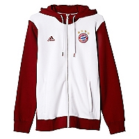 Polerón Bayern Munich 3S Hooded Zip