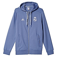 Chaqueta con Capucha Real Madrid 3 Bandas