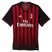 Camiseta Primera Equipaci�n AC Milan R�plica