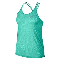 Polera Mujer Dry Running Tank Verde