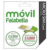 M�vil Falabella Kit Micro SIM Card