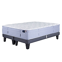Cama Europea Atlantic Dream 2 Plazas Base Dividida