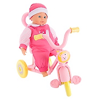 Muñeca Con Triciclo