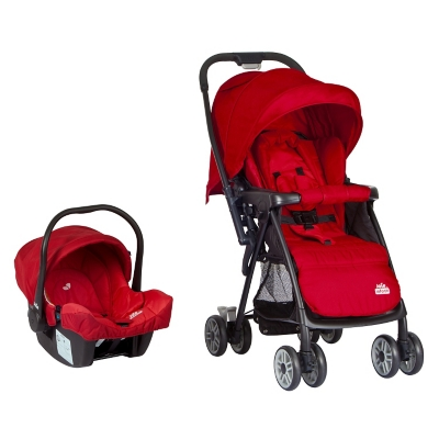 Coche Travel System Mirus Poppy Red
