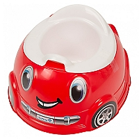 Potty Auto Rojo