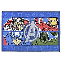 Bajada de Cama Avengers Four Power 57 x 90 cm