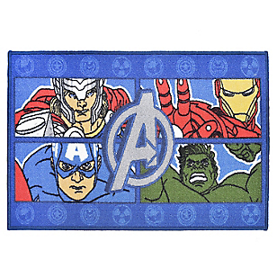 Bajada de Cama Avengers Four Power 57 x 90 cm