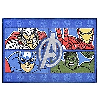 Alfombra Avengers Four Power 80 x 120 cm
