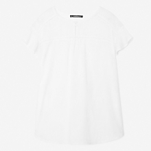 Camiseta Bordada Algod�n