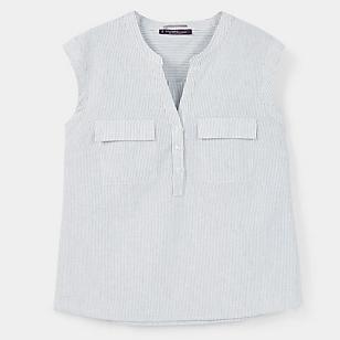 Blusa Algodón Lino
