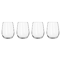 Set 4 Copas Stemless Vino Blanco