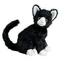 Peluche Gato Negro