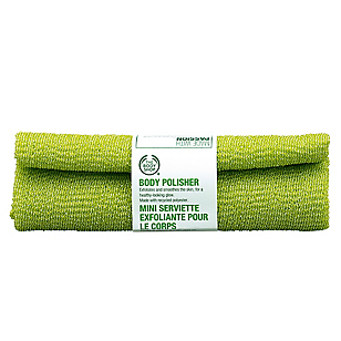 Toalla Exfoliante Polisher Body Recycled Green