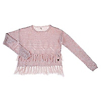 Sweater con Flecos Niña