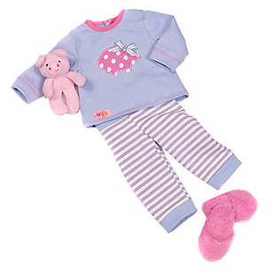 Piggy de Muñeca Pjs Outfit