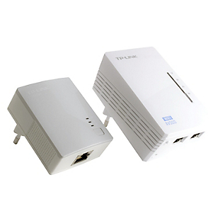Kit Extensor Powerline WiFi AV500 a 300Mbps