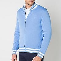 Sweater Liso con Cierre