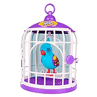 Pájaro con Jaula Serie 3