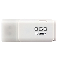 Pendrive 8GB Blanco