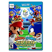 Wii U Mario and Sonic At Rio 2016