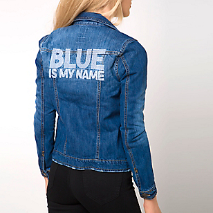Chaqueta Denim Bordado