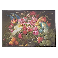 Set 30 Individuales Papel Flores