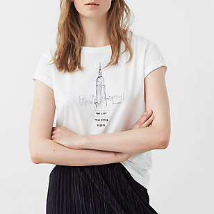 Camiseta Algodón Modal