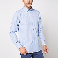 Camisa Cuello Button Down Rayas