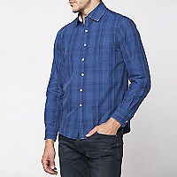 Camisa Cuello Semi Italiano Slim