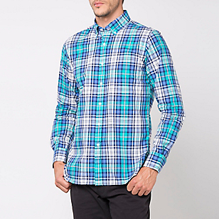 Camisa Cuello Button Down Slim