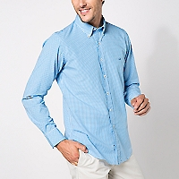 Camisa Cuello Button Down Cuadros