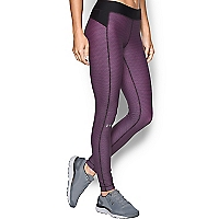 Leggings Morado de Compresión Estampado UA Heargear