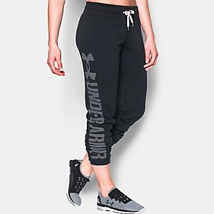 Pants UA Favorite Fleece Negro