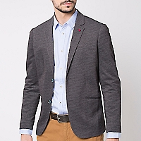 Blazer Vestir Texturado