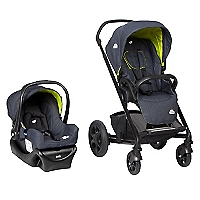 Coche Travel System Chrome Azul