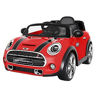 Auto a Batería Mini Cooper Rojo
