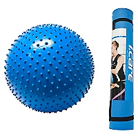 Set Pilates Mat + Bal�n Azul