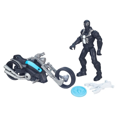 Figura Acción y Moto Agent Venom