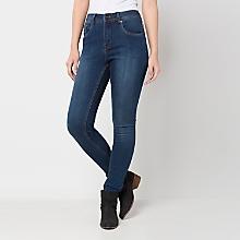 Jeans High Tiro Alto