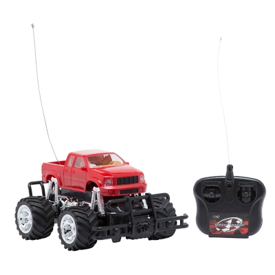 Camioneta Monster Truck 4 Rojo