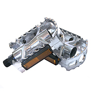Pedales Negro Aluminio