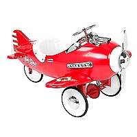 Avión Rojo de Acero