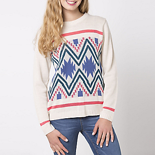 Sweater Manga Larga Juvenil