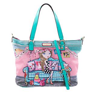 Cartera de Hombro Shopper Iris JS11317-IRI