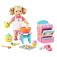 Little Mommy Preparan Galleta DLB57