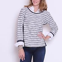 Sweater Rayas Manga Larga