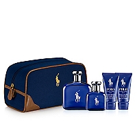 Set Polo Blue EDT 125 ML + Polo Blue EDT 40 ML + After Shave 50 ML + Shower Gel 50 ML