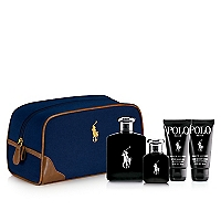 Set Polo Black EDT 125 ML + Polo Black EDT 40 ML + After Shave 50 ML + Gel de Ducha 50 ML