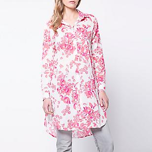 Blusa Larga Estampado Floral
